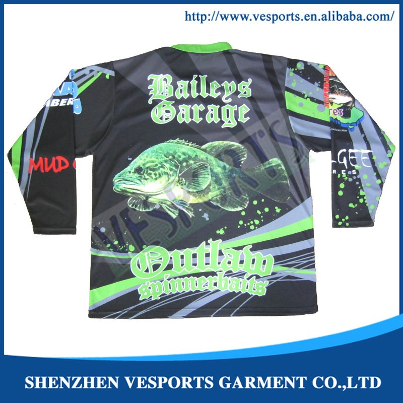 UV protection long sleeves fishing shirts