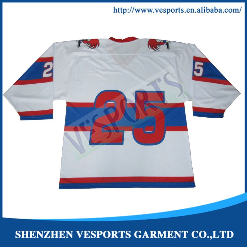 Personalized hockey jerseys team uniforms