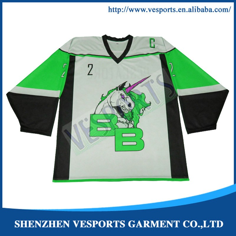 Youth size hockey jerseys custom
