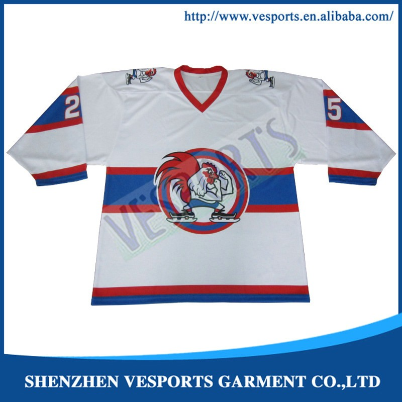 hign quality sublimation ice hockey jerseys